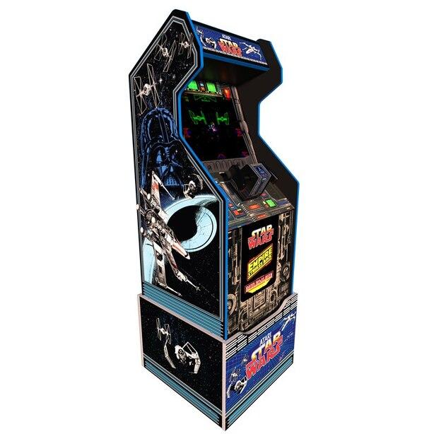 Machine d'arcade domestique Arcade1Up The Star Wars™ avec base personnalisée