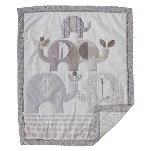 Lolli Living Naturi 4-Piece Crib Bedding Set