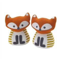 Lolli Living Woods Knit Bookend Friends - Fox