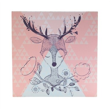 Lolli Living Sparrow Canvas Art - Deer