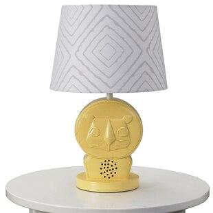 Lamp Shade - Grey Maze