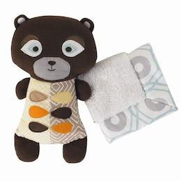Bixby Bear Softie with Security Blanket