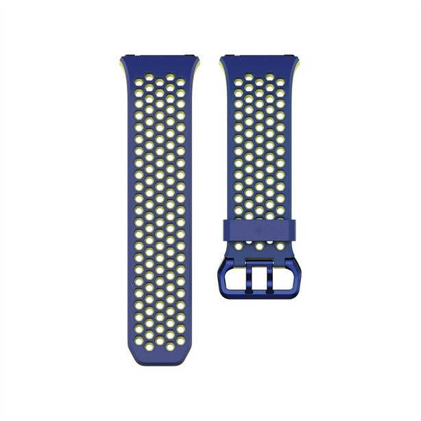 Fitbit Ionic Accessory Sport Band - Blue/Yellow, Small