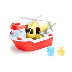 Green Toys Bateau et Hélicoptère