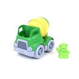 Mixer Construction Truck - Green / Yellow
