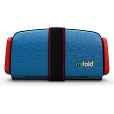 Mifold Booster Car Seat Denim Blue
