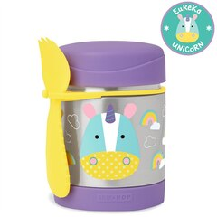 SKIP HOP ZOO STAINLESS FOOD JAR, UNICORN