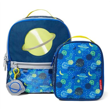 SKIP HOP FORGET ME NOT Backpack & Lunch Bag Set, Galaxy [INDIGO EXCLUSIVE]