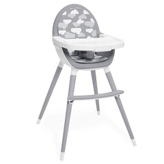 Skip Hop Tuo Convertible High Chair, Grey/Clouds