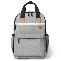 Skip Hop Duo Diaper Backpack, Grey Melange