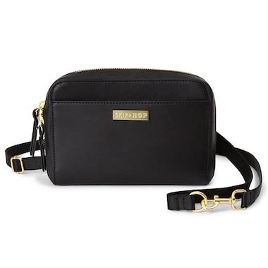 bbf2ba8358 Skip Hop® Greenwich Convertible Diaper Bag Wristlet Black