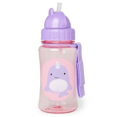 Skip Hop® Zoo Straw Bottle Narwhal 350 ML