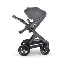 Stokke® Trailz Chassis Stroller Black and Brown