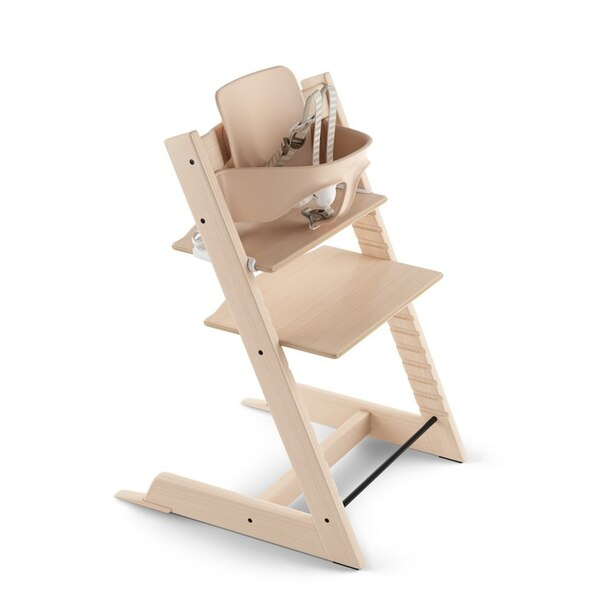 Stokke® Tripp Trapp® Adjustable Grow with Baby High Chair Natural