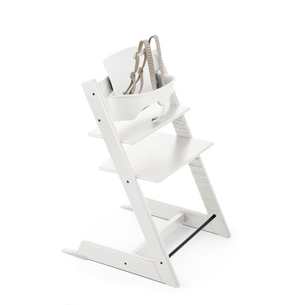 Stokke® Tripp Trapp® Adjustable Grow with Baby High Chair White