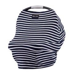 MILK SNOB MULTI USE BABY CAR SEAT COVER, MARINE STRIPE