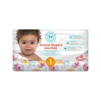 Diapers, Size 1, Rose Blossom
