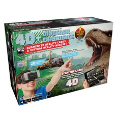 AR Cards and VR Headset Dino Bundle