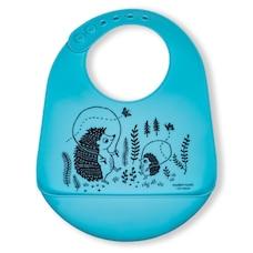 modern-twist Bucket Bib - Hedgehog Family