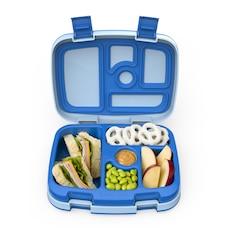 Bentgo Kids Durable & Leak-Proof Children's Lunch Box - Blue