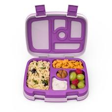 Bentgo Kids Durable & Leak-Proof Children's Lunch Box - Purple