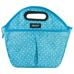 Packit Traveler Lunch Bag – Chambray Dot