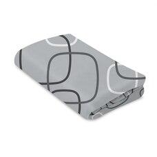 4Moms® Breeze® Bassinet Sheet Silver Plush
