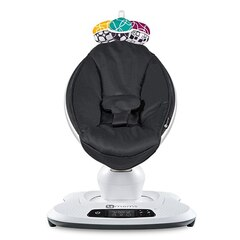 4Moms® Mamaroo® 4.0 Parent-Mimicking Motion Baby Seat Classic Black