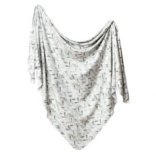 Copper Pearl Knit Swaddle Blanket Alta