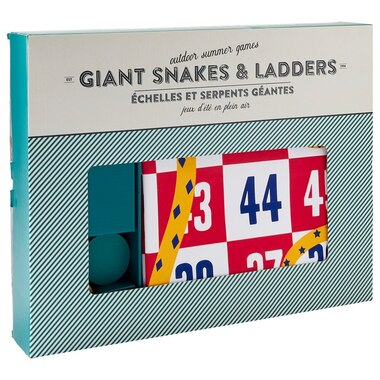 GIANT FABRIC SNAKES & LADDERS