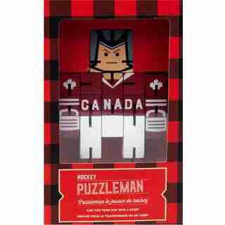 Hockey Puzzle Man - Brain Teaser