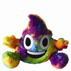 Rainbow Poop Bestie Pillow