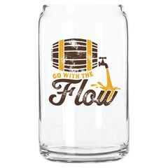 GLASS CAN - GO WITH FLOW
