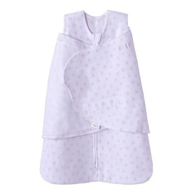 Halo® Sleepsack® Swaddle Wrap 100% Cotton Pink Mini Hearts Newborn to 3 Months