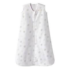 Halo® Sleepsack® Wearable Blanket 100% Micro-Fleece White Sketch Dot 0 to 6 Months
