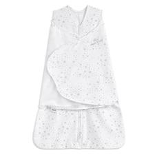 Halo Innovations SleepSack Swaddle Cotton -  Midnight Moons Grey Size NB