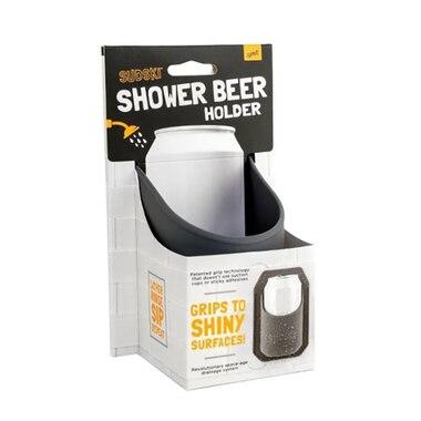 Sudski Shower Beer Holder Grey