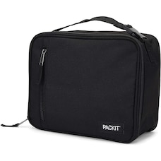 PackIt Freezable Lunch Box Black