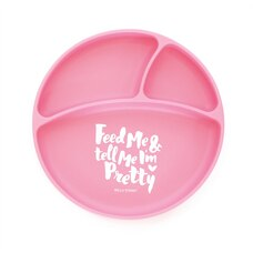 BELLA TUNNO SILICONE SUCTION PLATE, FEED ME & TELL ME I'M PRETTY