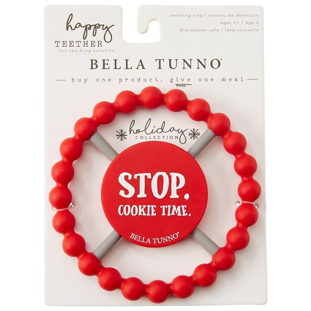 "Bella Tunno® Teether ""Stop. Cookie Time."""