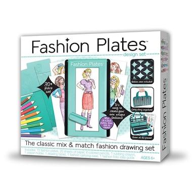 Fashion Plates Deluxe Kit By Fashion Plates Toys Chaptersindigoca