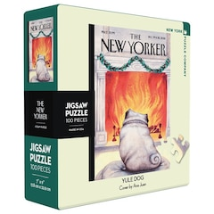New Yorker - Yule Dog Mini Jigsaw PUzzle