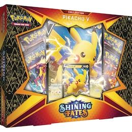 The Pokémon TCG: Shining Fates Collection—Pikachu V Box