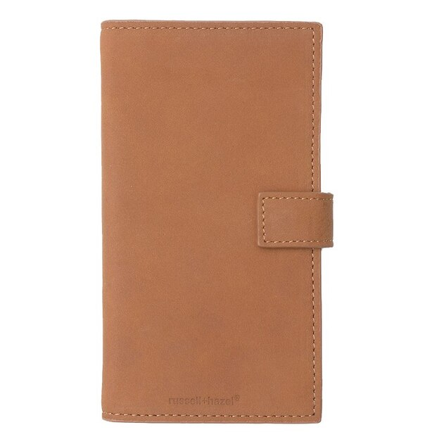Leather Phone Case+Wallet Camel