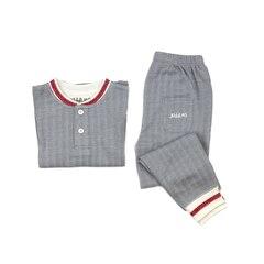 Juddlies Cottage Collection 2 Piece Pajama Set, Driftwood Grey 2T