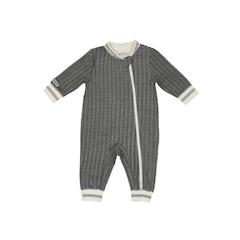 Juddlies Cottage Collection Playsuit, Bear Black Medium 6-12 months