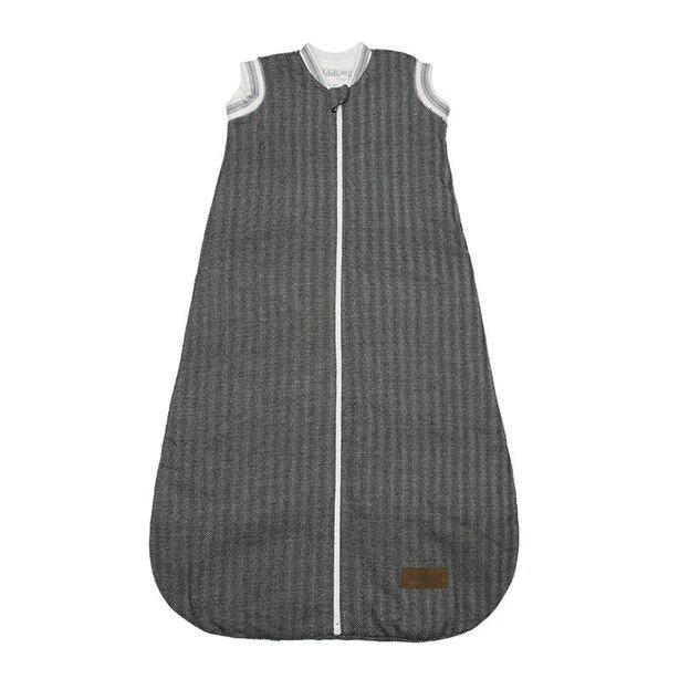 Juddlies - Cottage Collection - Organic Cotton Dream Sack, Sleep Sack, Wearable Blanket, 2-Way Zipper, 2.5 Tog - Bear Black - 6-18 months