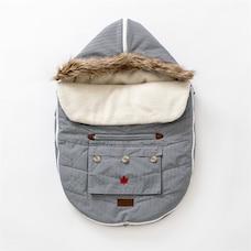 Juddlies - Car Seat & Stroller Bag - Herringbone Grey