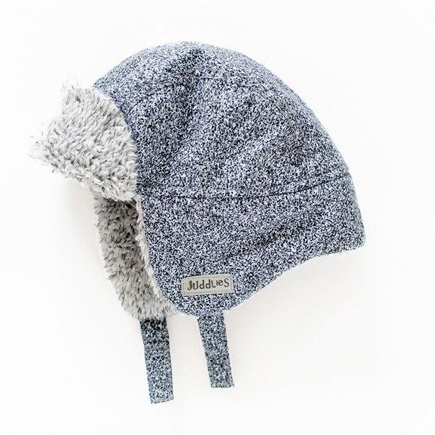 Juddlies - Winter Hats - Salt & Pepper Grey - 0-6 months