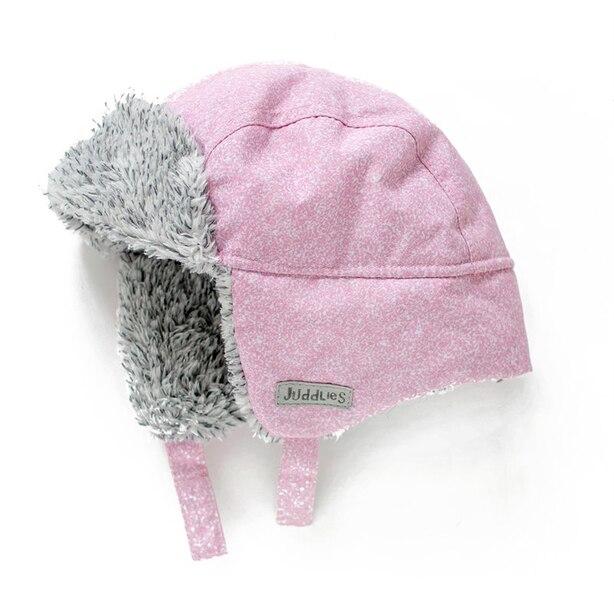 Juddlies - Winter Hats - Salt & Pepper Pink - 6-12 months